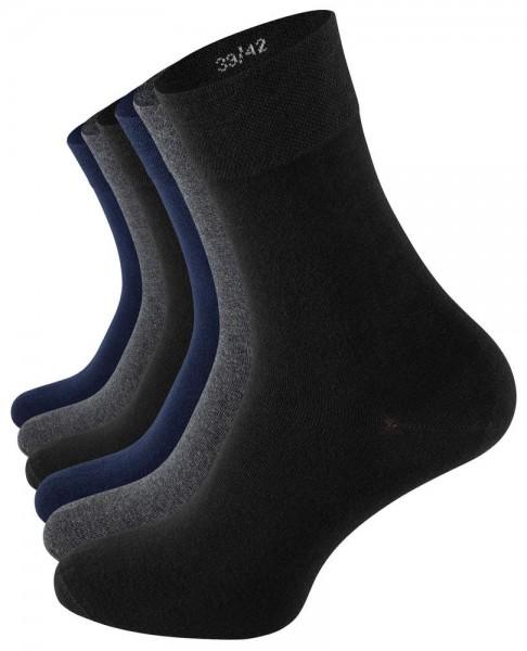 6 Paar Baumwoll-Socken - Edel & Modern