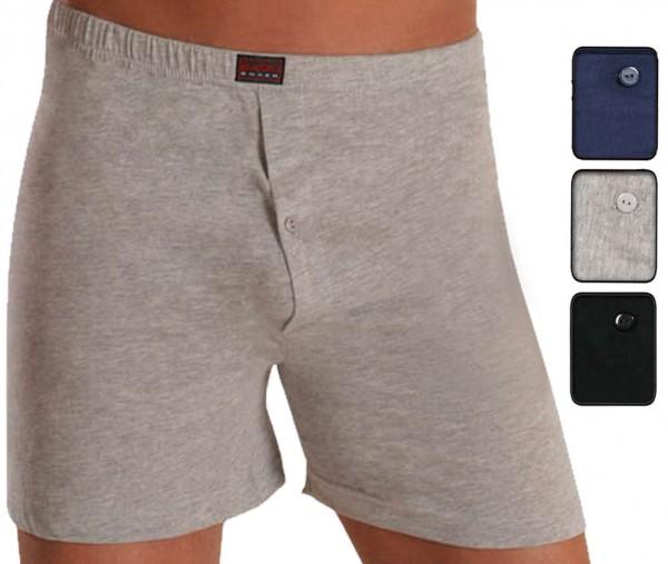 3er Pack Herren Basic Boxershorts, Baumwolle, farbig sortiert