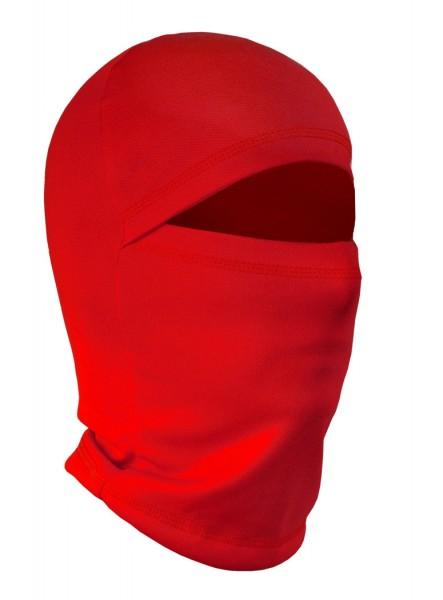 Sturmhaube, Skimaske, Motorradmaske - One Size in Rot