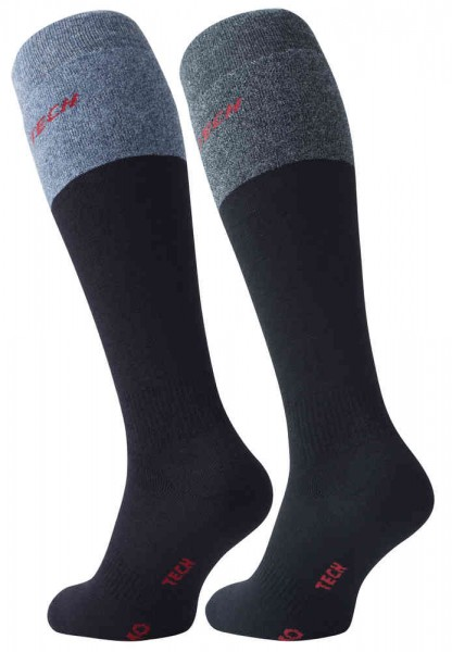 4 Pairs of Mens Thermo Knee-High Socks - THERMO-TECH