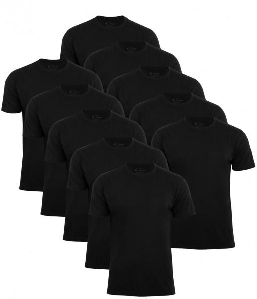 10 Stück Herren T-Shirt`s O-Neck - Tee