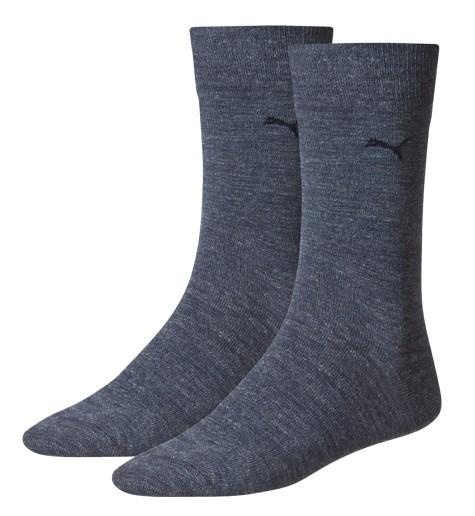 2 Paar original Puma Casual - Herren Socken, jeansblau