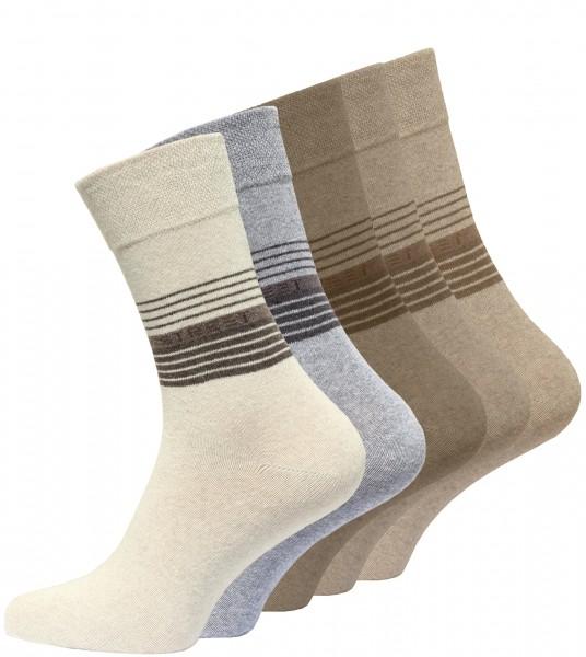 "Men cotton socks ""STREET"" with rings"