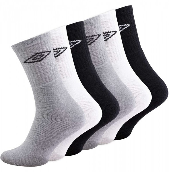 6 Paar Orginal UMBRO Sportsocken