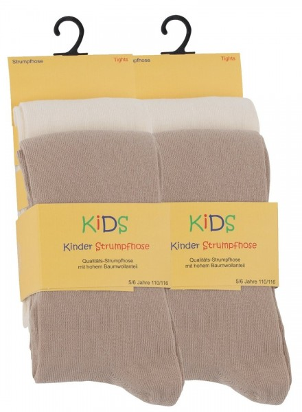 4er Set Kinder Baumwoll Strumpfhosen