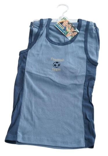 Unterwäsche-Set für Jungen, 2-teilig in blau