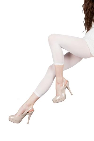 Damen Capri Leggings, 3/4 Länge Mikrofaser 40 DEN
