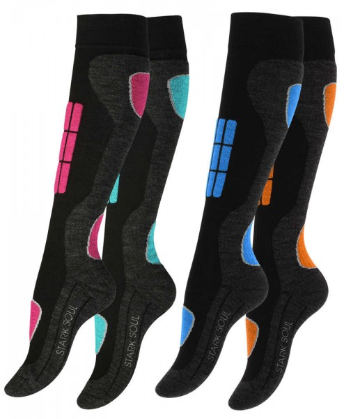 Ladies Performance SKI and SNOWBOARD socks, Special Padded for better Protection