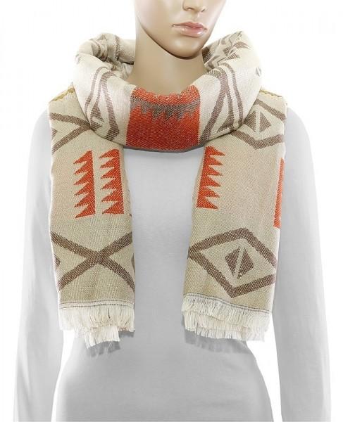 Schal im Ethno Stil
