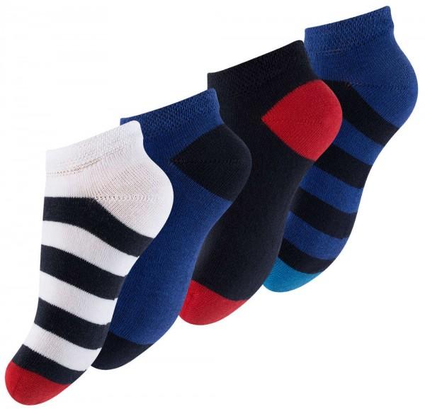 8 Paar Kinder Sneaker Socken -Maritim-