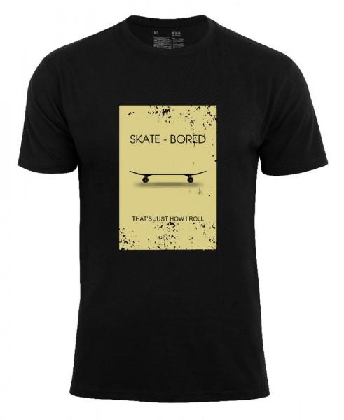 T-Shirt Skateboards -Skate-Bored-