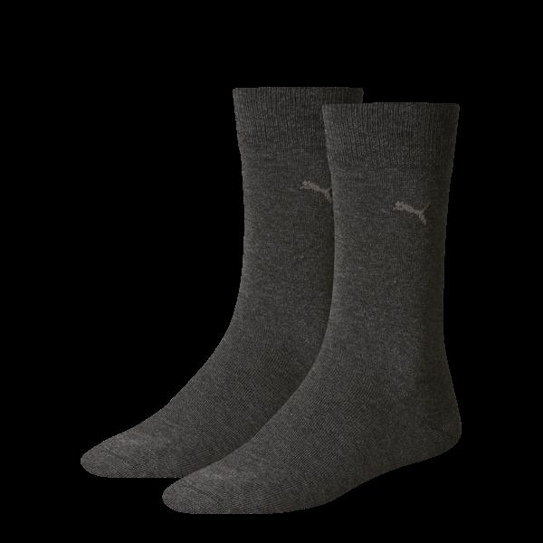 2 Paar original Puma Casual - Herren Socken, anthrazit