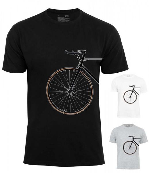 T-Shirt Bike Lover - Vorderrad
