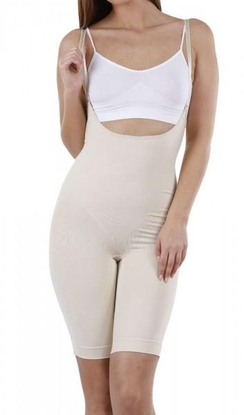 Shapewear Body mit Bein - Figurformender Seamless Bodysuit
