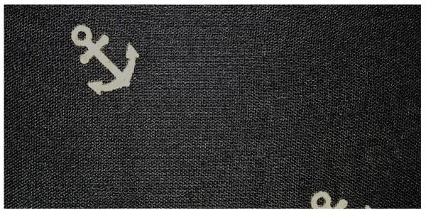 Loop Schal mit maritimen Anker-Print