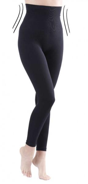 Slim Leggings in schwarz