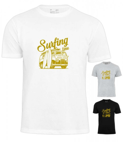 "Surf Time T-Shirt ""Holiday Ozean see"""