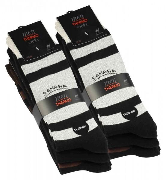 6 Paar Herren Socken, Thermosocken, Vollfrottee