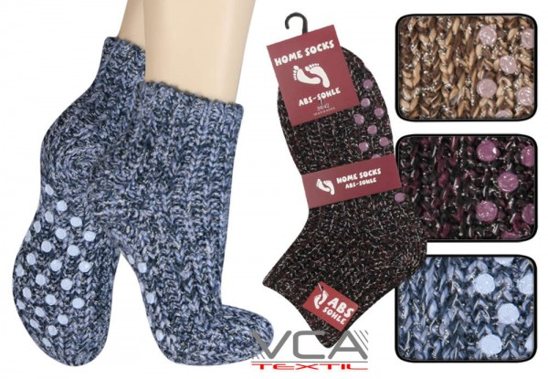 Home Socks mit ABS-Sohle