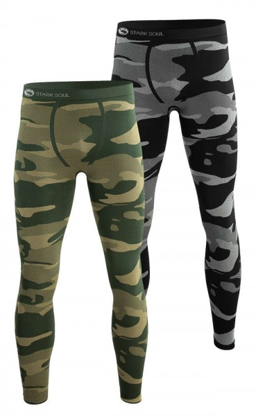 STARK SOUL® Functional Thermal Underwear - Camouflage