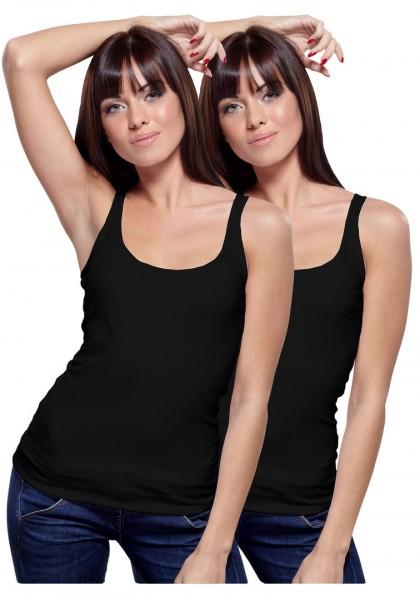 Set of 2 Yenita® Women's Bamboo Tank-Shirt