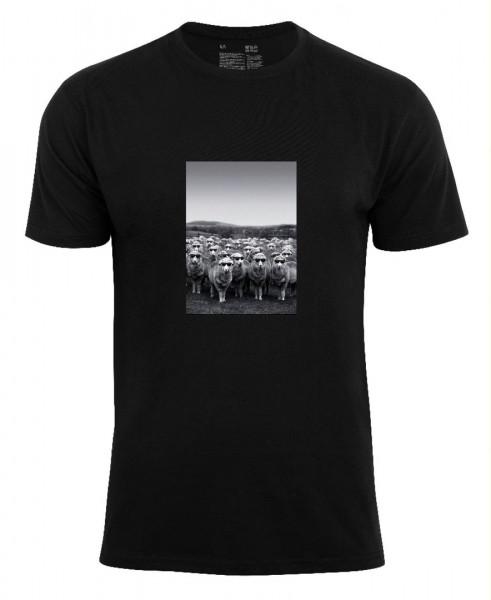 T-Shirt -Schafe mit Sonnenbrille-