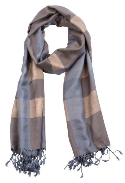 Unisex Schal im Streifen Design