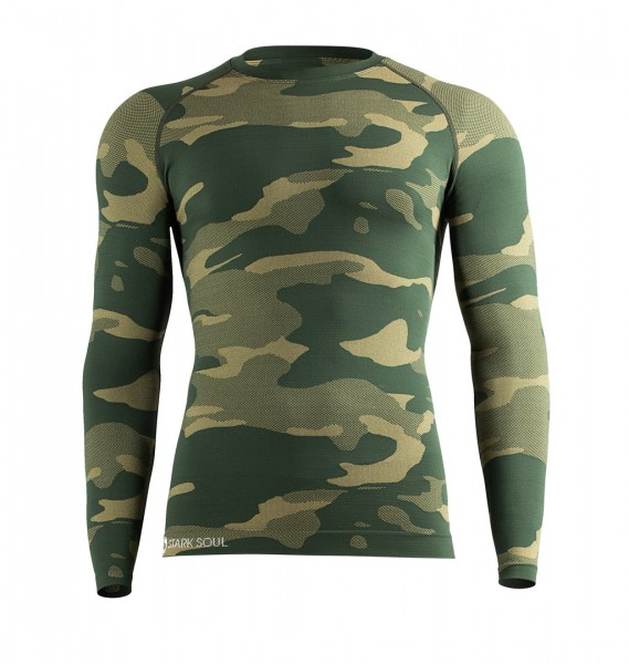 Funktionswäsche - Hemd Langarm - Camouflage