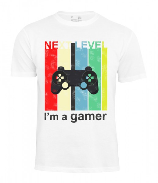 T-Shirt -I`m a Gamer- - Next Level