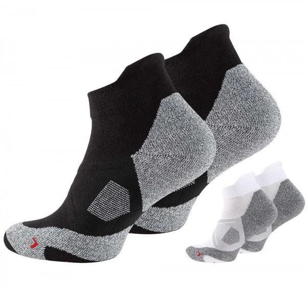 2 Paar Unisex Sneaker Sport Socks