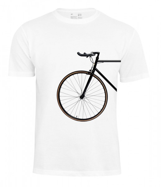 T-Shirt Bike Lover - Vorderrad