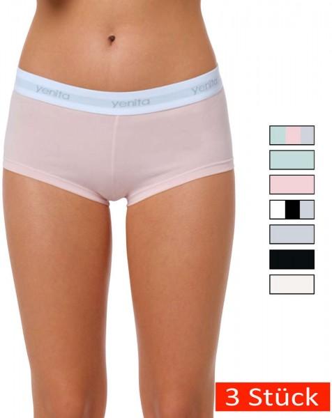 Yenita® Modern-Sports-Collection - Panty (3er Set)